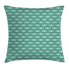Ambesonne Mint Throw Pillow Cushion Cover, Steering Wheels Anchors Chevron Zigzag Nautical Seaside Theme Aquatic, Decorative Square Accent Pillow Case, 24 X 24 Inches, Mint Green Navy Blue White #Ambesonne #Mint #Throw #Pillow #Cushion #Cover, #Steering #Wheels #Anchors #Chevron #Zigzag #Nautical #Seaside #Theme #Aquatic, #Decorative #Square #Accent #Case, #Inches, #Green #Navy #Blue #White