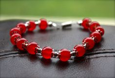 Ruby Red Carnelian Bracelet, from Phenomenal Women