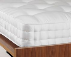 Heal's - Good Design, Well Made. Contemporary lighting & furniture by the best British & international designers King Size Mattress, Mattresses, Contemporary Furniture, Ottoman, Cool Designs, Healing, Pocket, Chair, Bedroom