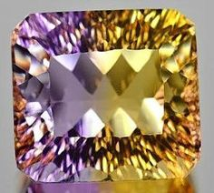 1632 Ct Ametrine Millenium Cut Bolivia by ExoticMinerals on Etsy, $150.00 Stunning. I have some ametrine, although not of this calibre!