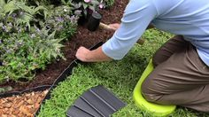 Pound-In Plastic Landscape Edging - Lawn Edging Lawn Edging, Garden Edging, Garden Borders, Garden Paths, Garden Beds, Landscaping Tools, Front Yard Landscaping, Landscaping Edging, Backyard Patio