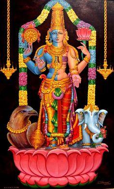 Lakshimi and Narayana joined.