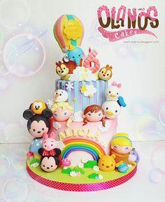 #Birthdaycake #customcake #customcakejakarta #partyfavour #kueulangtahunjakarta #jajanjakarta #delicious #sweettable #fondant3D #caketopper #sugarart #olanoscakes #olanos #jakarta #yummy #amazing #instafood #sweet #cake #olshopcake #jktfoodies #disney #disneytsumtsum #tsumtsumcake