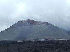 Il vulcano è classificato tra quelli definiti a scudo a cui è affiancato uno strato vulcano; la sua altezza varia nel tempo a causa delle sue eruzioni che ne determinano l'innalzamento o l'abbassamento. Nel 1900 la sua altezza raggiungeva i 3.274 m. s.l.m. e nel 1950 i 3.326 m. Nel 1978 era stata raggiunta la quota di 3.345 m[6] e nel 2010 quella di 3.350 m.