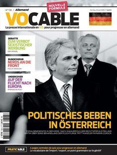 Vocable allemand N° 728 - 9 juin 2016