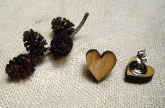 Hjertelige øredobber Stud Earrings, Jewelry, Jewlery, Jewerly, Stud Earring, Schmuck, Jewels, Jewelery, Earring Studs