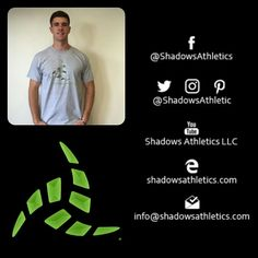 Tees for the fellas. Guys we have you covered. Join in. shadowsathletics.com/shop #IAmShadowsAthletics