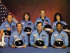 Top right corner:  http://eraeducationproject.com/blog/2013/04/25/judith-resnik-biography/  Is she really alive?  Was the crew never on the Challenger? Did they screw up!?