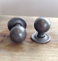 Buy Round Forged Cabinet Knob- Patine from Grace & Glory and other great home products Cupboard Door Knobs, Cabinet Knobs, Door Pulls, Knobs And Pulls, Back Plate, Cabinet Furniture, Contemporary Style, Hardware, Architecture