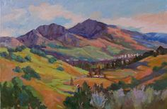 Mount Diablo in the spring