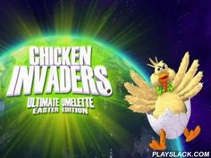 Chicken Invaders 4: Ultimate Omelette. Easter Edition  Android Game - playslack.com , Control a space person and shoot a multitude of extrinsic chicken from a collection of armaments. The bad intergalactic poultries want to ruin humaneness in this game for Android again. aviator the spaceship and combat off the adorned wrongdoers. Shoot lasers and other armaments attached  on your vessel. Move from side to side evading  foe fire. conquer gigantic space masters. rescue our planet from the…