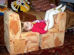 НАША СТРАНА МАСТЕРОВ: Мебель из картона