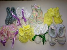 8 pairs from St. Michael's Prayer Shawl Ministries (Canton, Ohio)