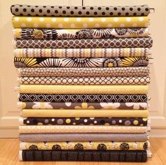 Fabric! by Jaybird Quilts, via Flickr