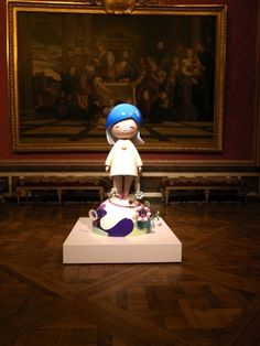 Takashi Murakami Takashi Murakami Sculpture, Takashi Murakami Art, Modern Art Sculpture, Cultural Artifact, Inside Art, Art Addiction, Junk Art, Lowbrow Art, Assemblages