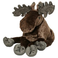 IKEA - STRÖVA, Soft toy, , Soft and cuddly king of the Swedish forest.All soft toys are good at hugging, comforting and listening and are fond of play and mischief. In addition, they are reliable and tested for safety.