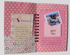 Life, one day at a time using the Cinch- Scrapbook.com #wermemorykeepers #cinch #minialbum