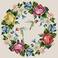 This Pin was discovered by Imb Butterfly Cross Stitch, Cross Stitch Bird, Cross Stitch Flowers, Cross Stitch Designs, Cross Stitching, Cross Stitch Embroidery, Hand Embroidery, Cross Stitch Patterns, Embroidery Patterns Free