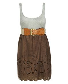 Wear with a pair of cowboy boots. <3 I wish this would appear in my closet so I could wear it today!