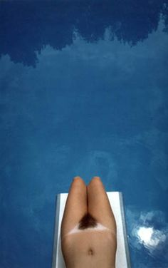 FRANCO FONTANA Untitled, Swimming Pool, 1983