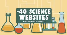 40 Science Websites to Keep Kids Engaged and Entertained at Home Science Websites, Teacher Websites, Science Topics, Science Jokes, Science Curriculum, Chemistry Jokes, Teacher Memes, Science Classroom, Science Online