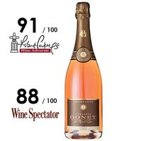 Champagne Philippe Gonet – Champagne Rosé Brut - #Champagne