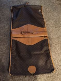 5ac7d13e1f0 Authentic Vintage Louis Vuitton garment bag Vintage Louis Vuitton