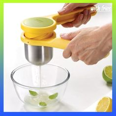 Joseph Joseph Helix Citrus Juicer Add a dash of lemon to a dressing or lime to a salsa with this Helix juicer from Joseph Joseph. Its twisting action makes it easier to infuse any dish with fresh citrus flavor. Citrus Juicer, Small Kitchen Appliances, Kitchen Gadgets, Cooking Gadgets, Kitchen Ware, Kitchen Dining, Kitchen Utensils, Juicer Reviews, Product Design