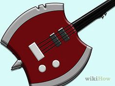 Make a Marceline Axe Bass from Adventure Time - wikiHow
