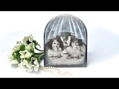 Decoupage jak zrobić efekt firanki - tutorial DIY - YouTube