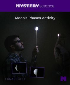 Moon Phases Activity - free hands-on science activity for 3rd, 4th or 5th grade elementary kids. Part of a complete unit on Astronomy: Sun, Moon, Stars, & Planets. Meets Common Core and NGSS.