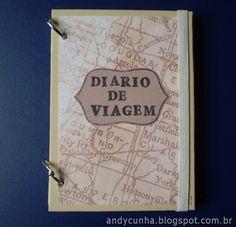 Diário de Viagem em scrapbook