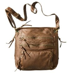 Target : Bueno Washed Crossbody Handbag - Light Bronze : Image Zoom