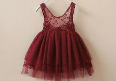 lace tutu with low back toddler girls red tutu by babygirldress, $33.99