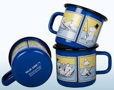 Muurla SIlja Line muumi muki Tove Jansson, Modern Retro, Finland, Cruise Ships, Troll, Tableware, Dishes, Vintage