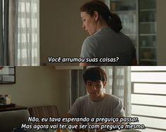 """Do filme """"Hoje Eu Quero Voltar Sozinho""""."""