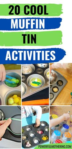 Great collection of activities for kids that are all in muffin tins! from PowerfulMothering.com. These are helpful activities for strengthening skills! Fine Motor Activities For Kids, Muffin Tins, Toddler Preschool, Fine Motor Skills, Cool Stuff, Crafts, Collection, Ideas, Muffin Pans