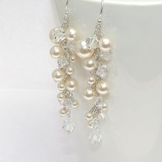 I can't decide if I want to wear long earrings or a necklace...if I go with earrings, these might be them