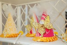 butterfly party hats