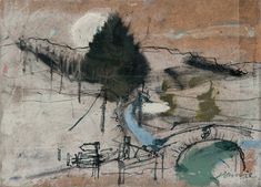 Kate Downie - Artist - Gallery of Recent Work Abstract Artists, Artist Inspiration, Drawing Artist, Artist Gallery, Artist, Artist Sketchbook, Landscape Prints, Landscape Art, Landscape Drawings