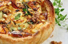 Een heerlijke smaakcombinatie van geitenkaas, tomaatjes en katenspek. Deze hartige taart maak je in een handomdraai.