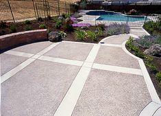 11 Best Exposed Aggregate Concrete Patio Images Concrete