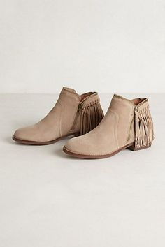 Dally Fringe Boots #anthrofav #greigedesign