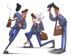 Character design by Paul Cohen