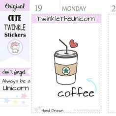 A171| coffee planner stickers,coffee to go stickers,starbucks,cappuccino,tea #supplies @EtsyMktgTool http://etsy.me/2yoA2jA