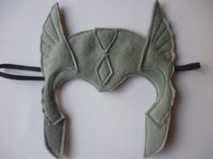 Avengers Thor felt mask for dressing by MummyHughesy on Etsy, £7.00