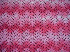 Ravelry: Knit-Look Lace Baby Blanket pattern by Lisa van Klaveren