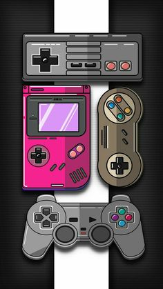 Retro Game Wallpaper von Tenshirok – be – Free auf ZEDGE ™ gaming wallpaper