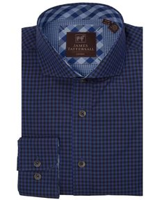 JTW6629-Blue from James Tattersall Clothing