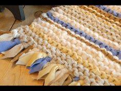 ▶ Вязаные ковры украсят дом - YouTube